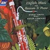 English Music For Bassoon & Piano - CD containing 'Four Sketches for Bassoon'