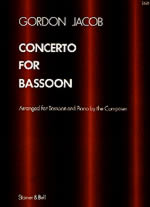 Front cover of Bassoon Concerto
