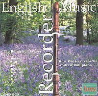 English Recorder Music CD