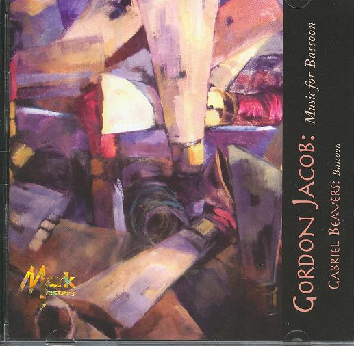 CD: Gordon Jacob - Music for Bassoon