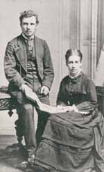 Gordon Jacob's parents, Stephen and Clara